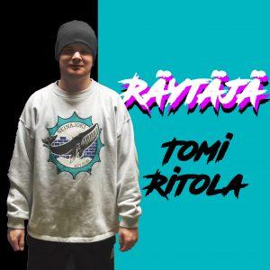 Tomi Ritola otti kiinnityksen Räytäjän maljaan.